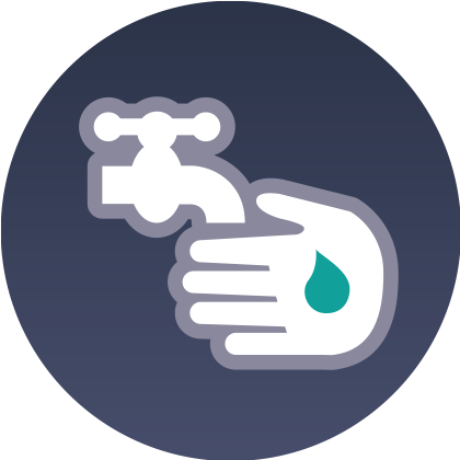 Infection Prevention and Control Interactive Icon