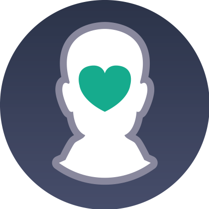 Mental Health and Wellbeing Interactive Icon