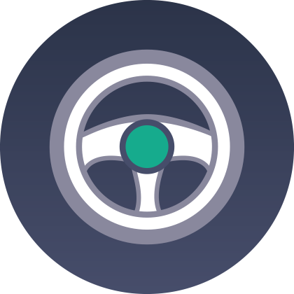 Driver Safety Icon